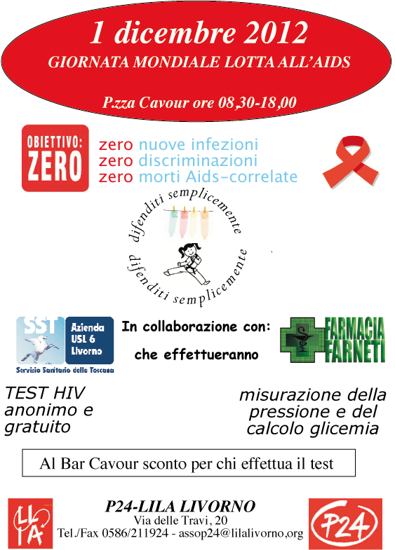 LILA Livorno - World Aids Day
